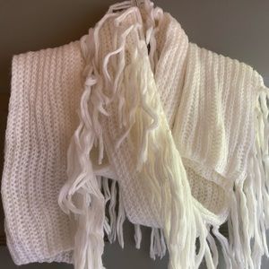 A New Day Scarf with tassels